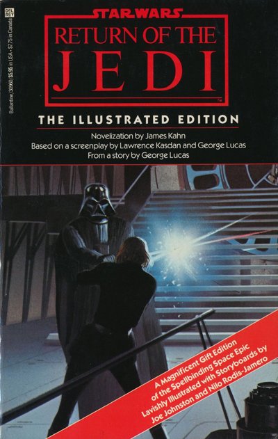 McQuarrie - Return of the Jedi Front Cover