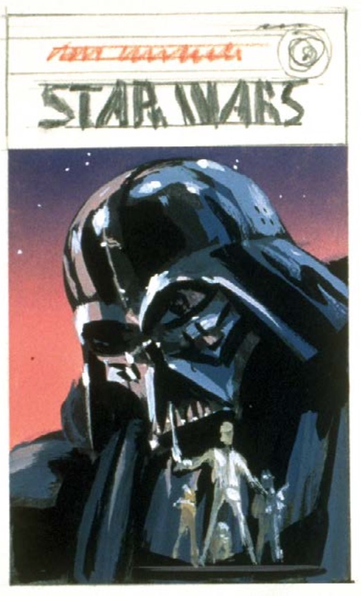 McQuarrie - Darth Vader poster
