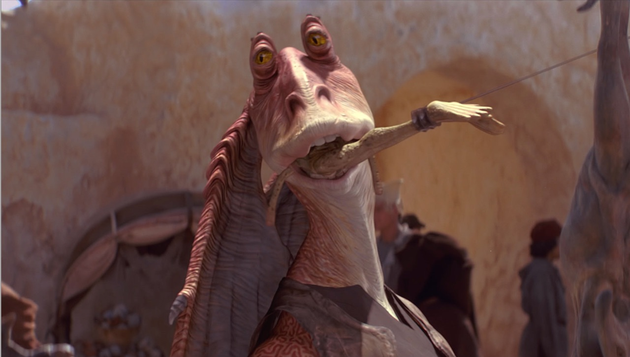 The Phantom Menace - Jar Jar Binks