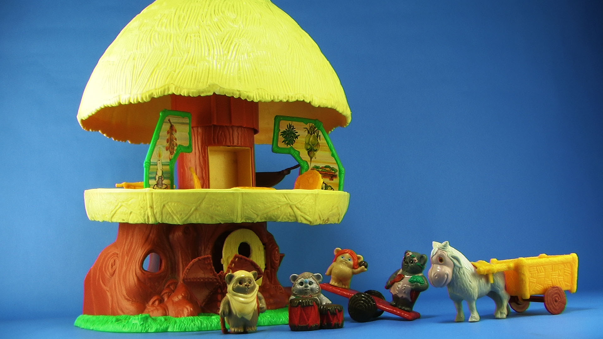 Star Wars Playskool Ewok Hut