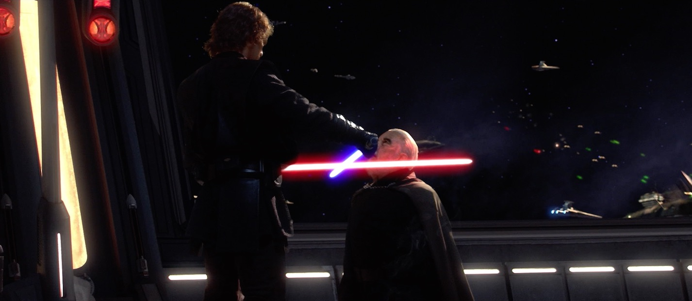 Revenge of the Sith - Dooku and Anakin