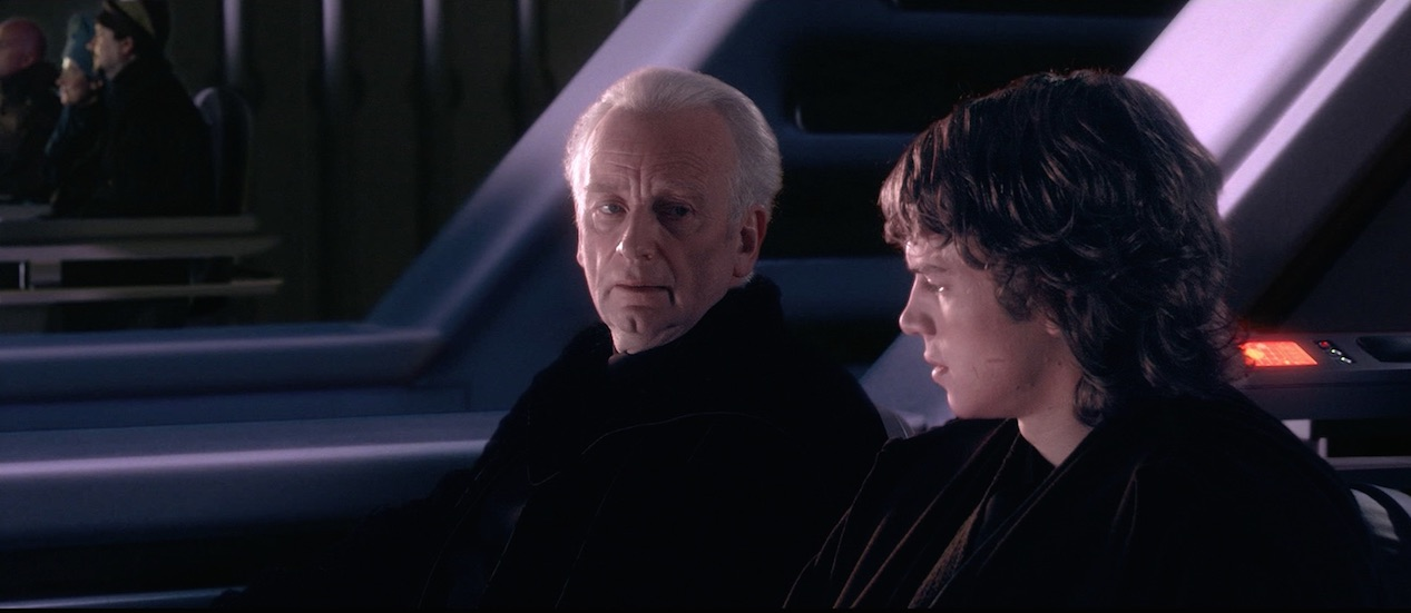 Revenge of the Sith - Palpatine and Anakin