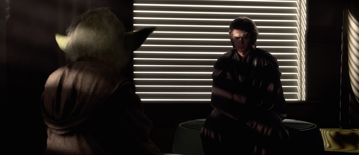 Revenge of the Sith - Yoda and Anakin