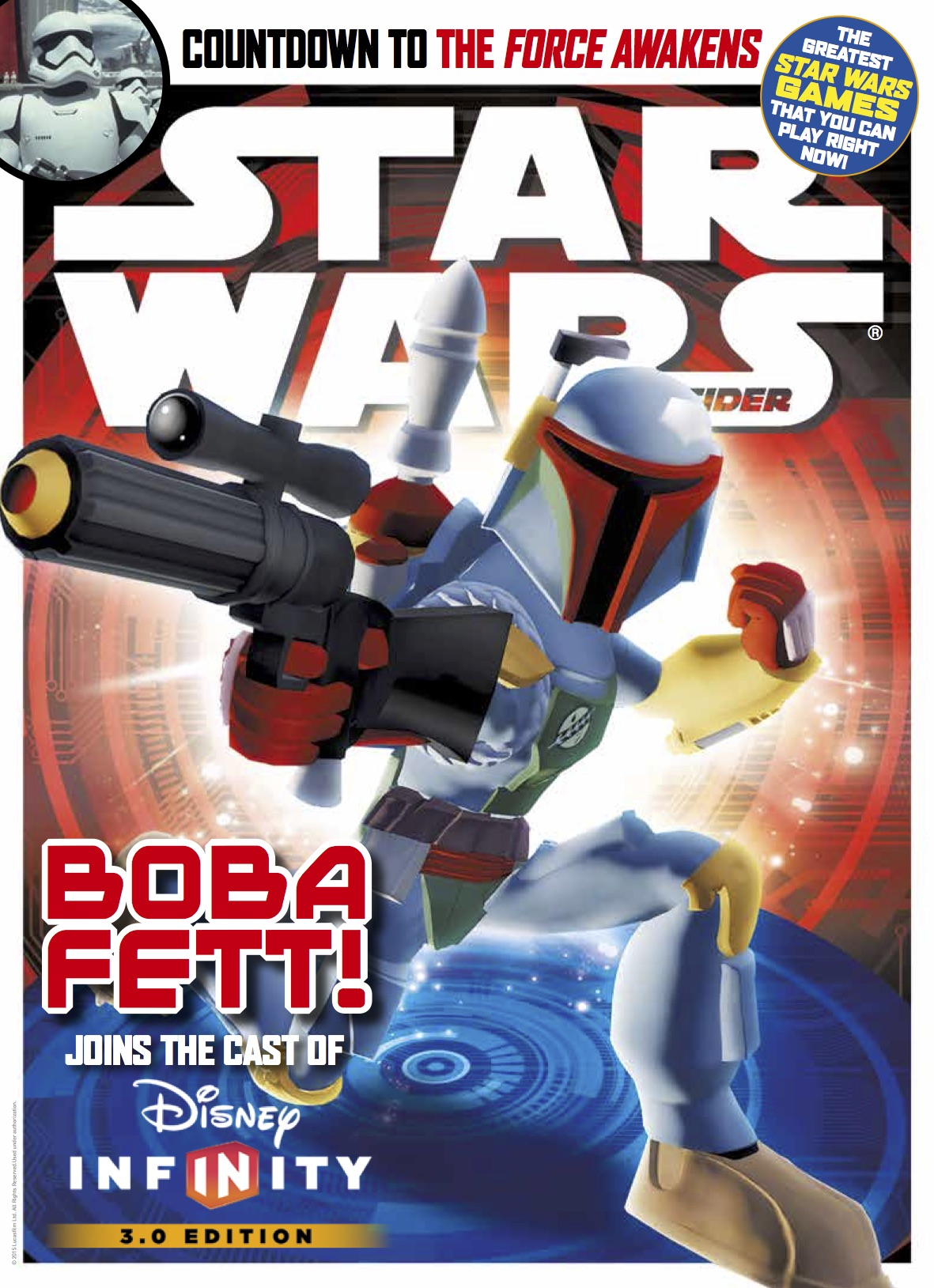 Star Wars Insider #161 - Boba Fett cover