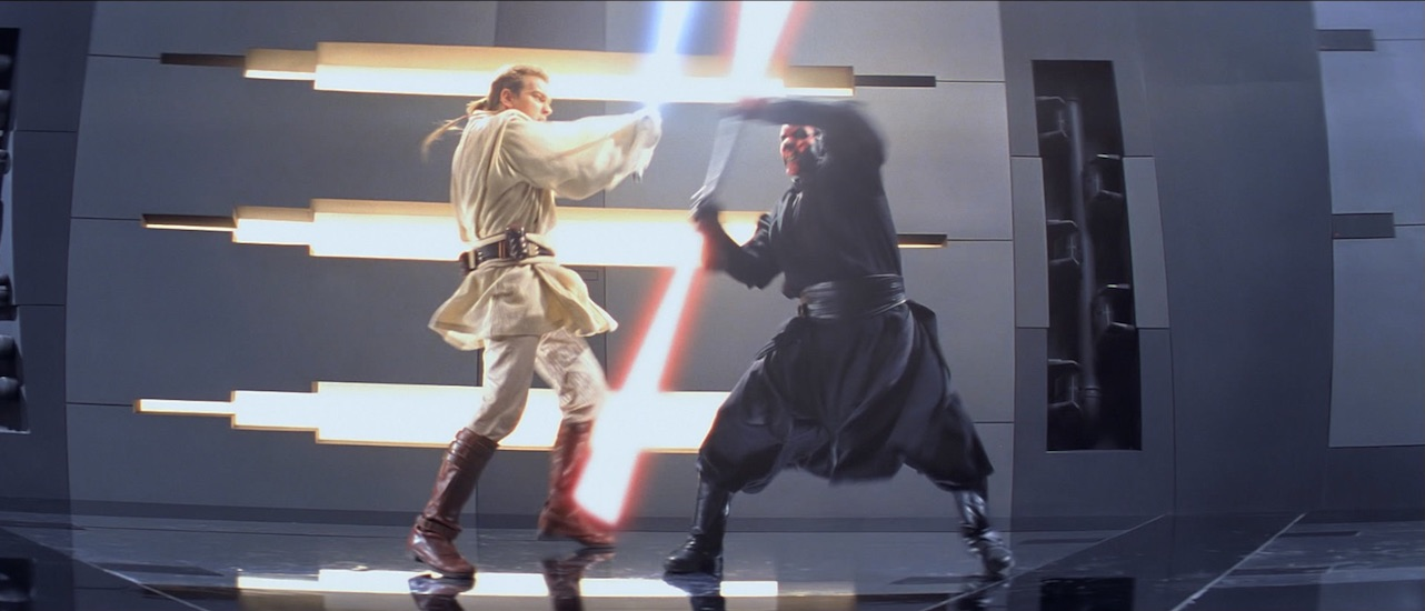 Episode I - Star Wars Lightsaber Fight