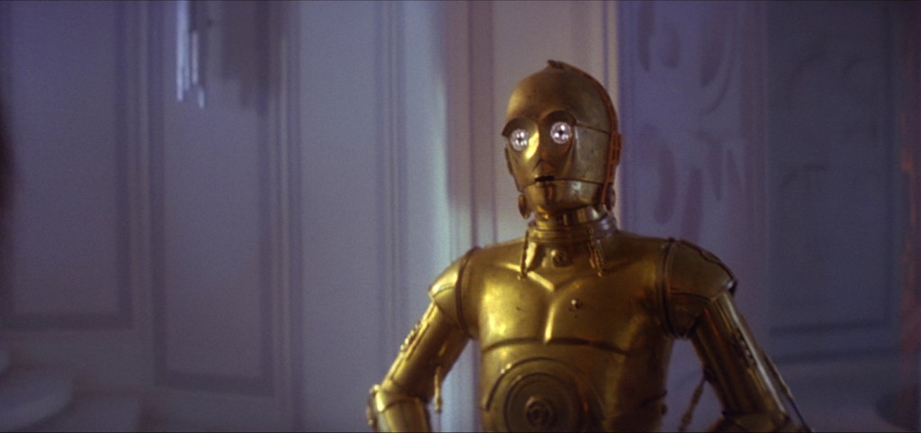 Episode V - Close up of Threepio