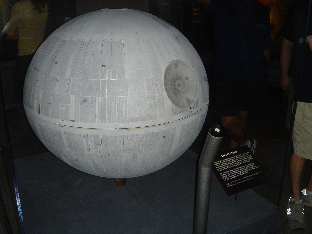 Death Star Model - On Display at EMP