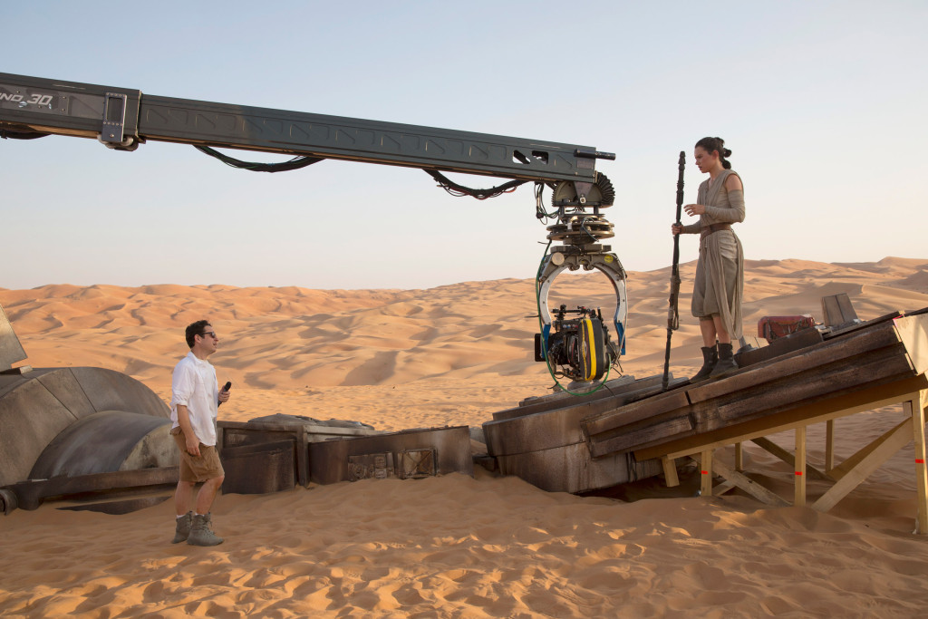 Star Wars: The Force Awakens - J.J. Abrams and Daisy Ridley