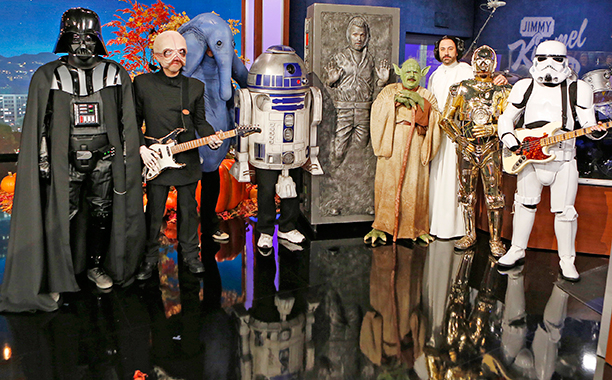 Jimmy Kimmel Star Wars costumes