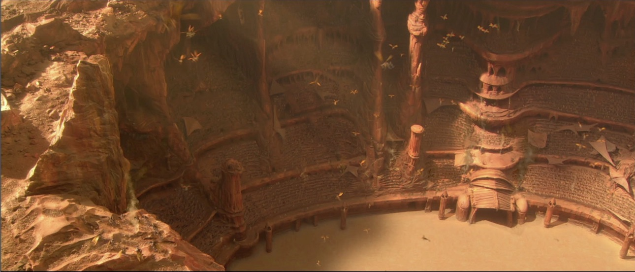 Attack of the Clones - Geonosis Arena