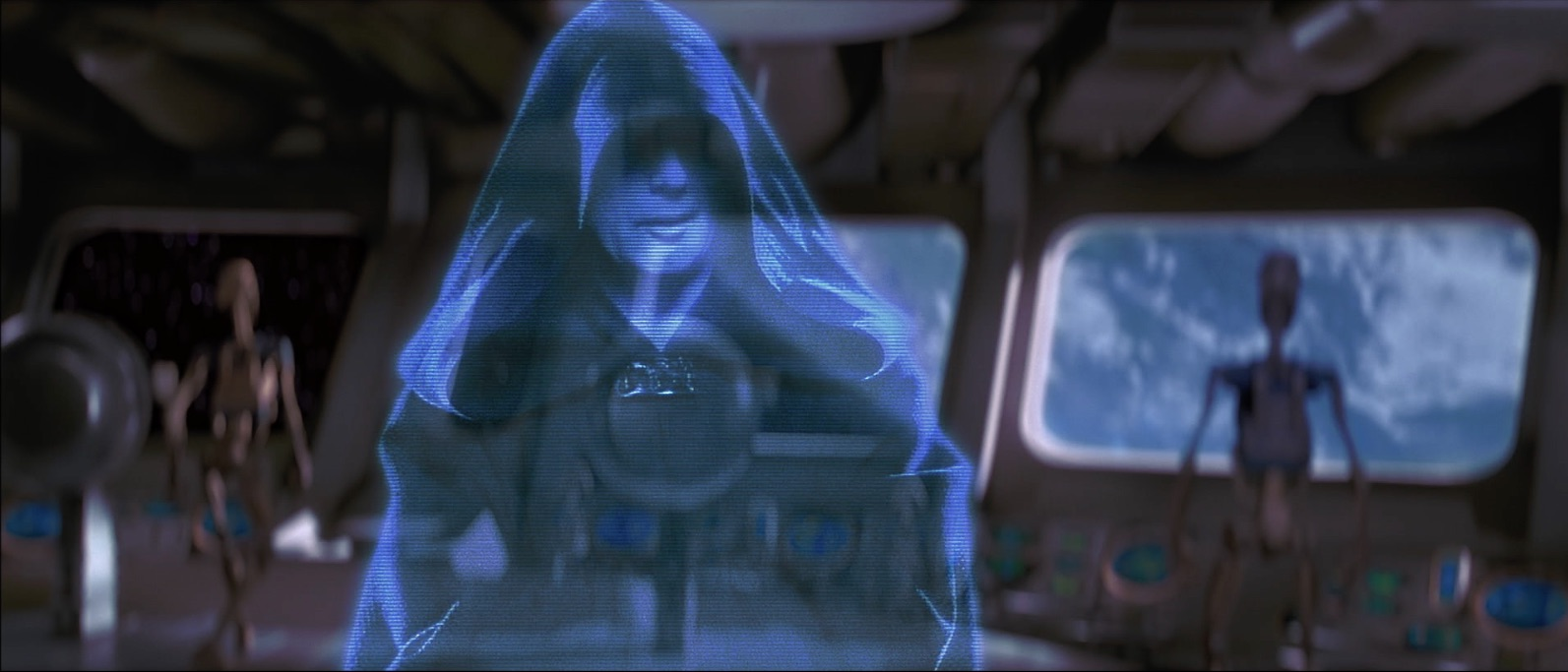 Hologram of Darth Sidious