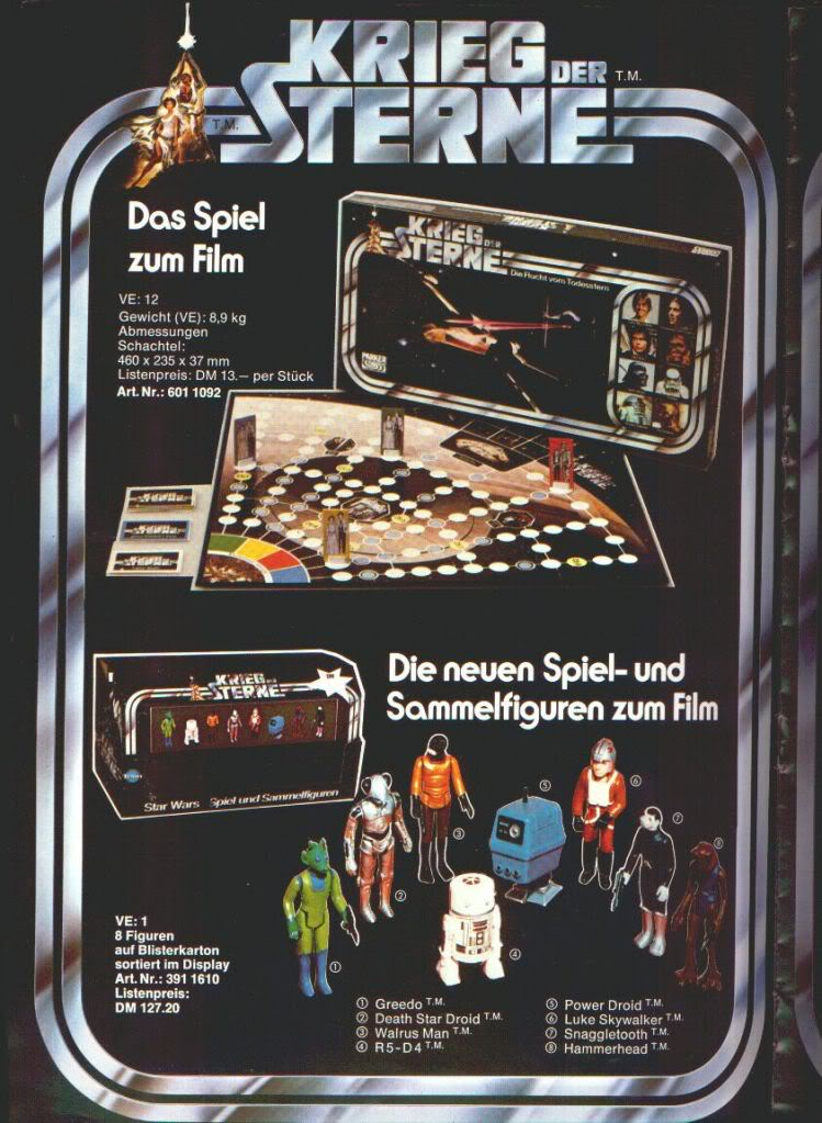 Kenner Cantina Aliens Prototypes