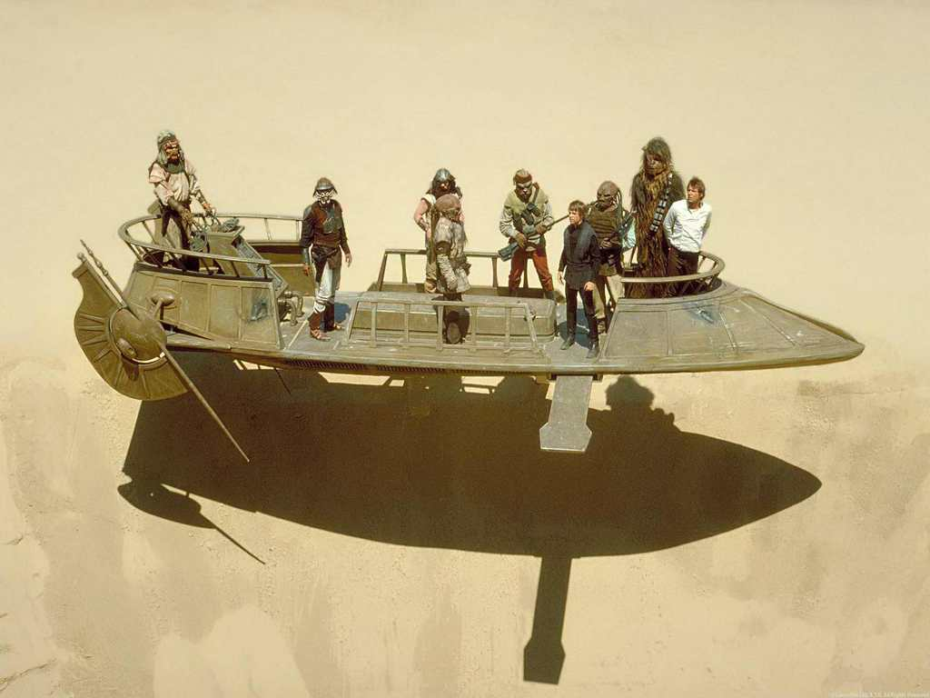 A New Hope - Bantha-II Cargo Skiff