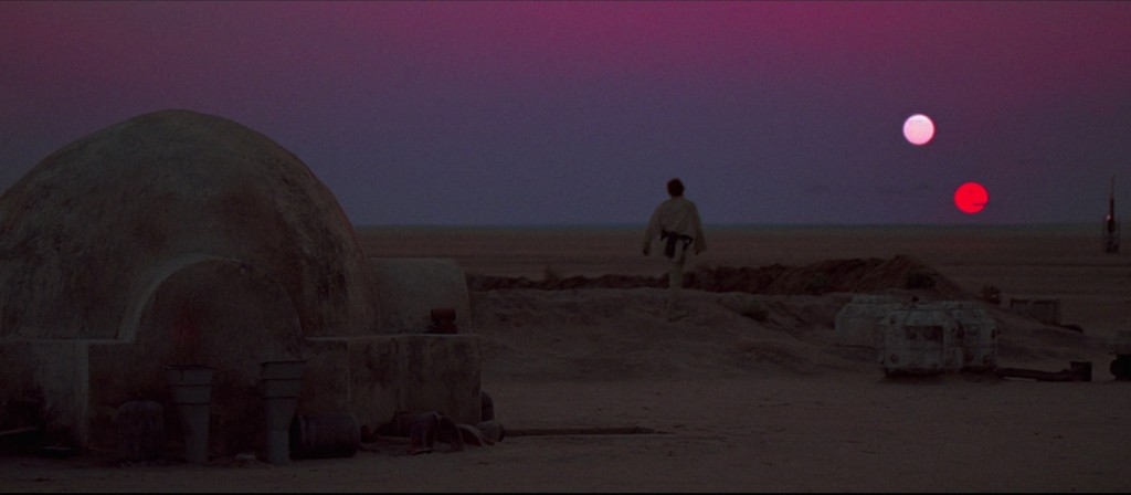Studying Skywalkers Ep IV - Luke gazing at Tatooine sunsets