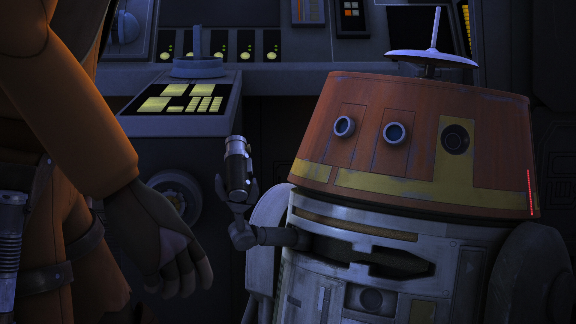Star Wars Rebels - Broken Horn - Chopper