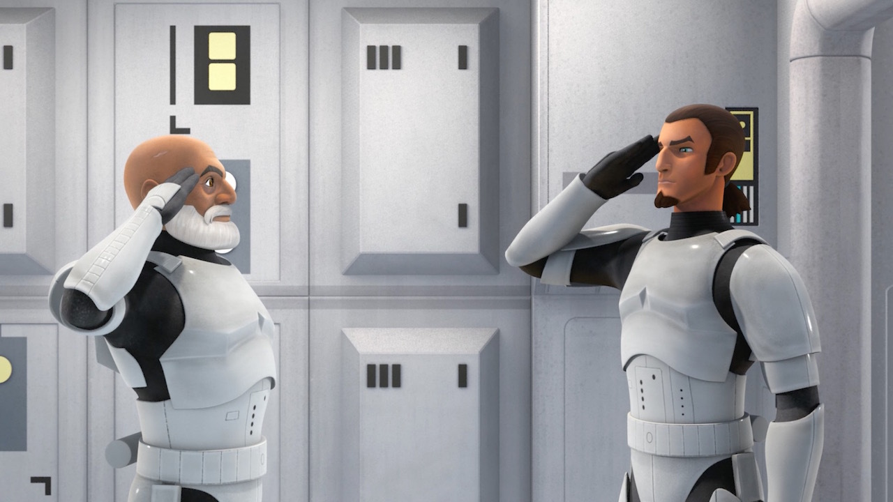 Star Wars Rebels - Stealth Strike - Rex and Kanan