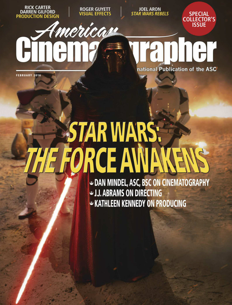 American Cinematographer - Kylo Ren Cover