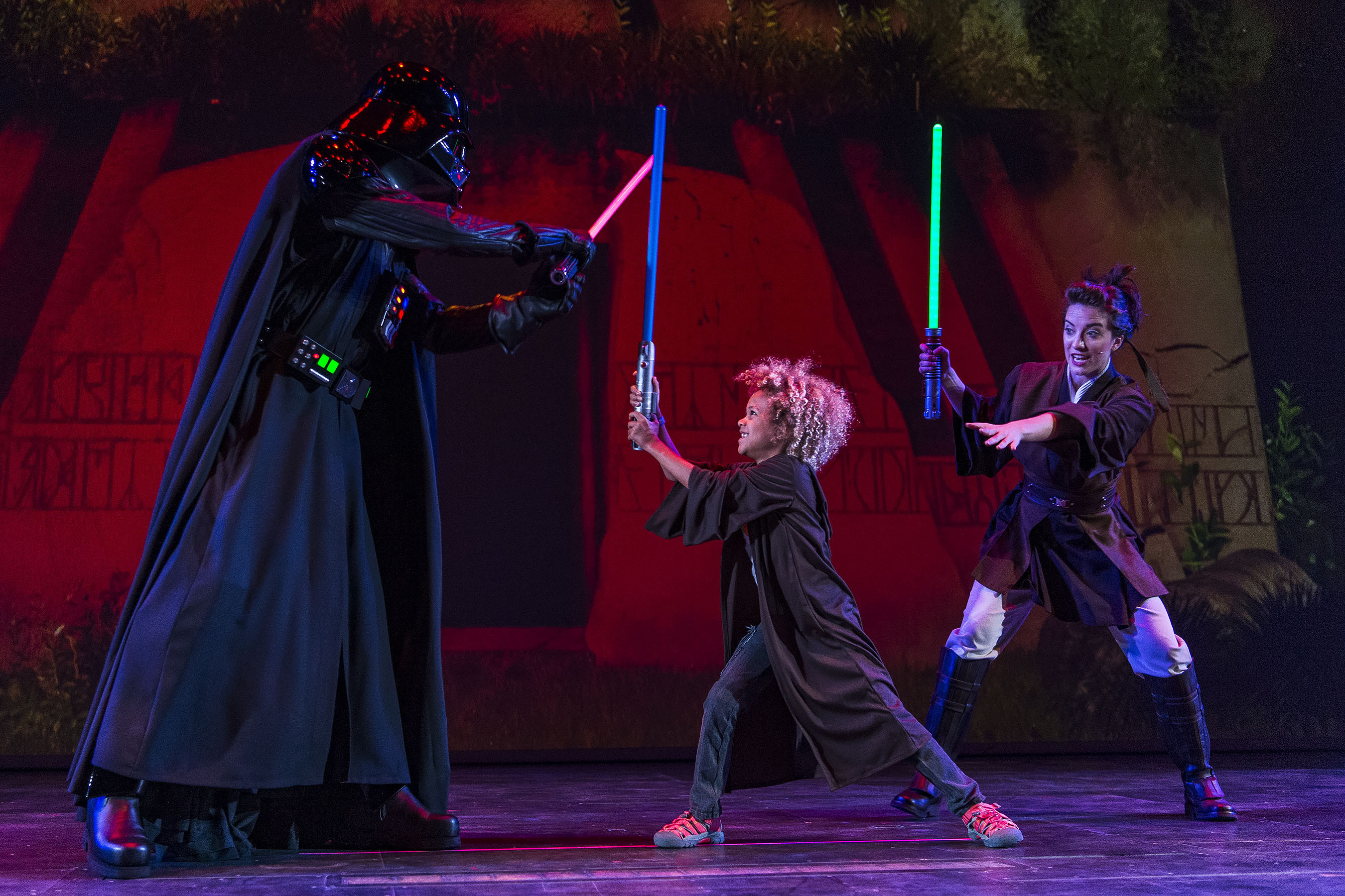 Jedi Training: Trials of The Temple (Matt Stroshane, photographer)