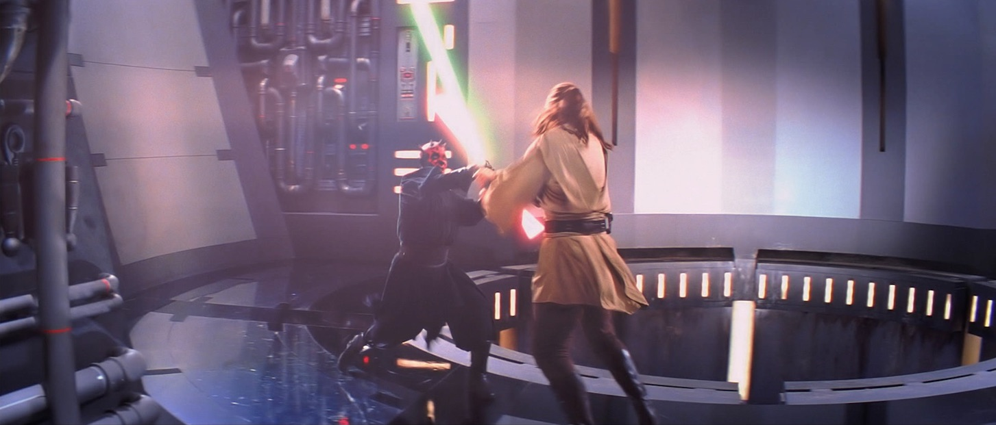 The Phantom Menace - Darth Maul and Qui-Gon Jinn