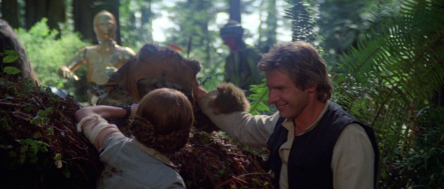 Return of the Jedi - Leia and Han