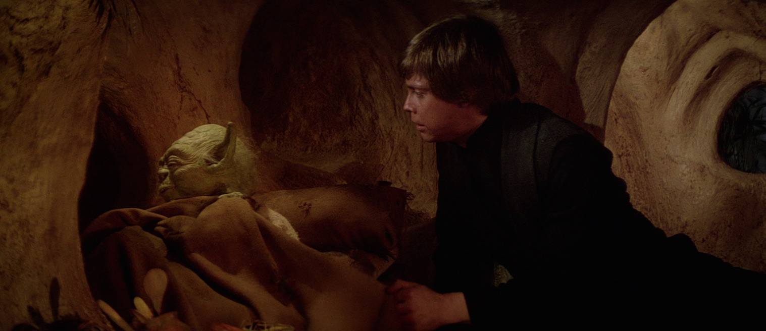 Return of the Jedi - Luke visiting Yoda on Dagobah