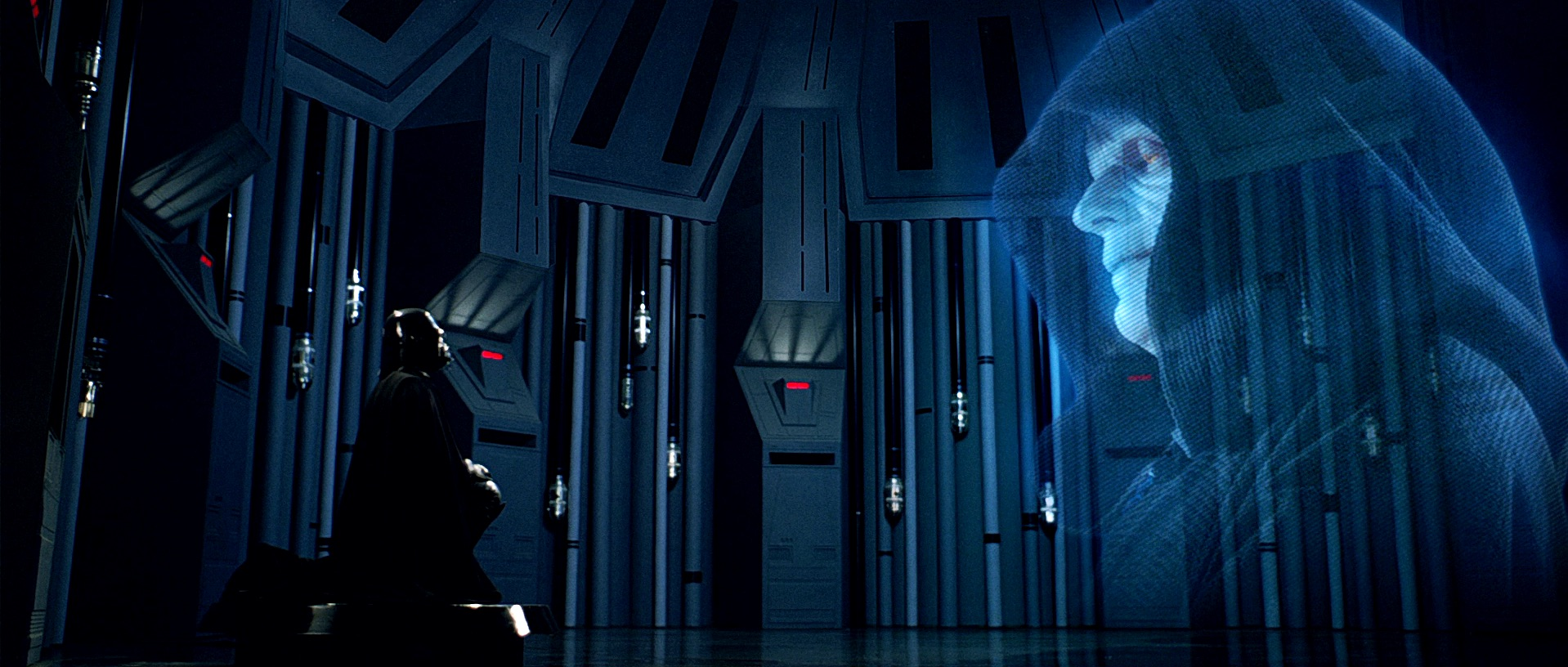 The Empire Strikes Back - Palpatine Hologram