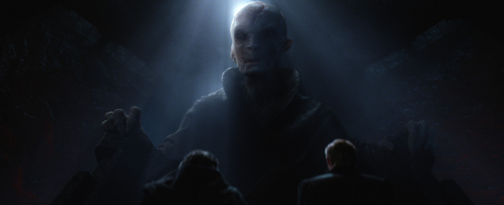 The Force Awakens - Supreme Leader Snoke
