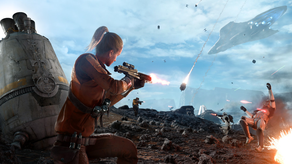 Star Wars Battlefront - Sullust