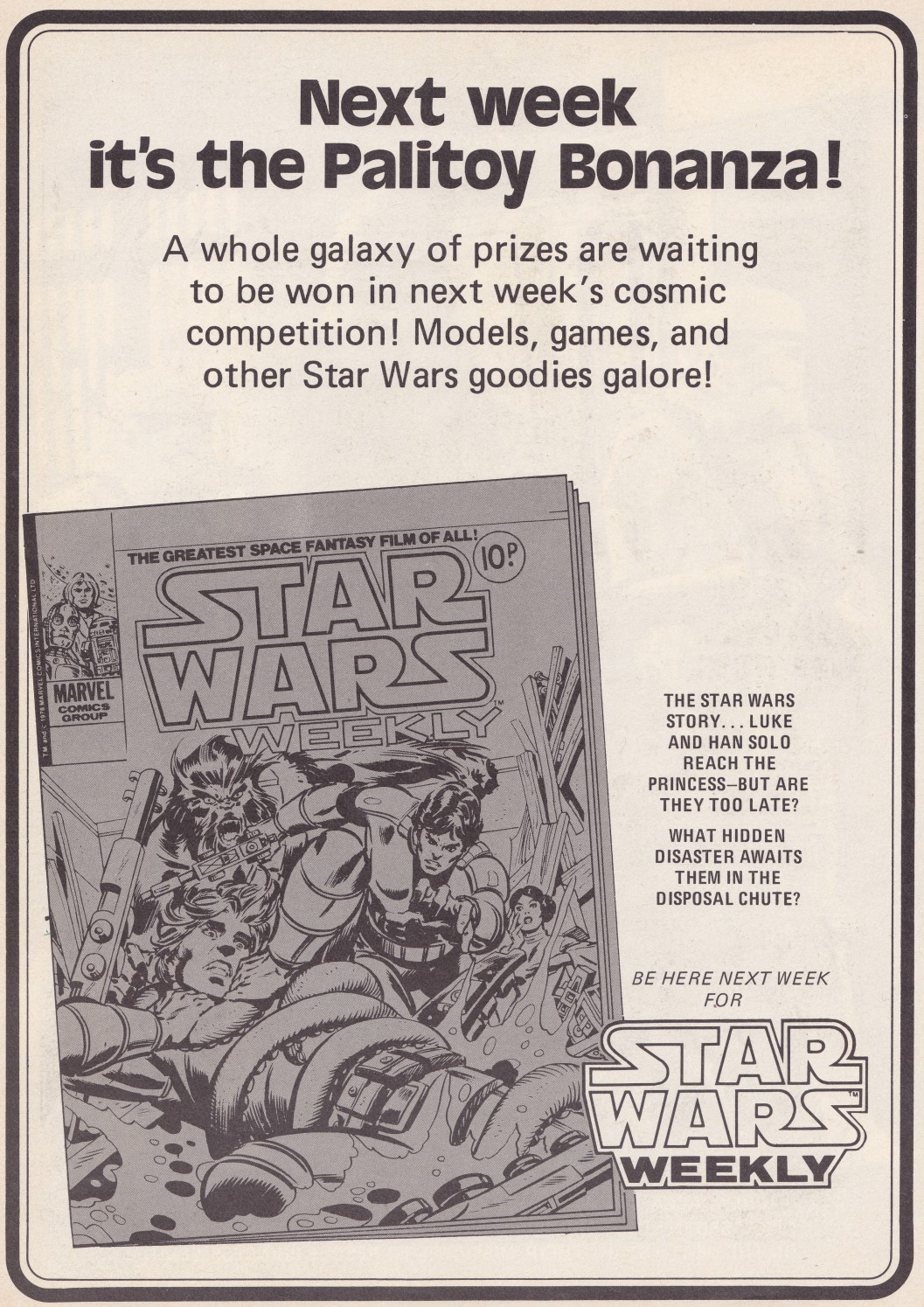 Star Wars Weekly Issue 6 - Palitoy Bonanza