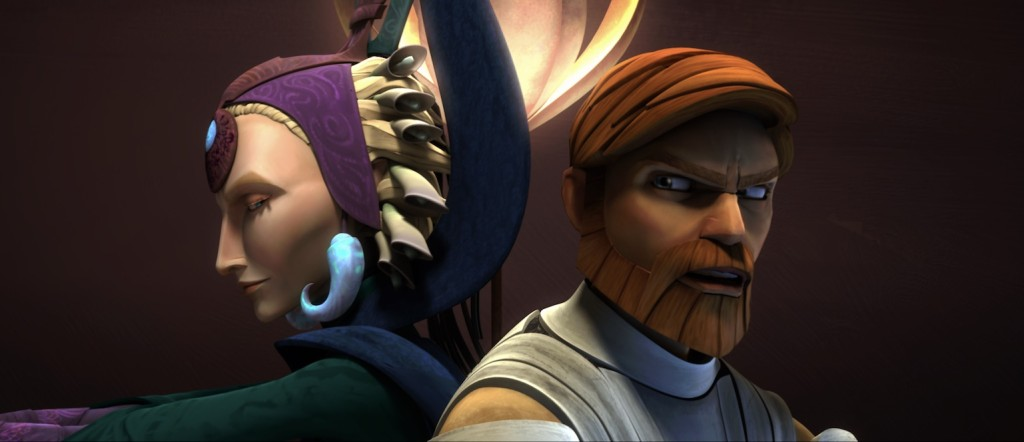 The Clone Wars - Satine and Obi-Wan