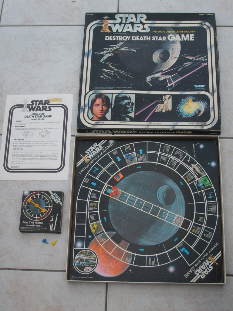 Star Wars Boardgames - Destroy the Death Star
