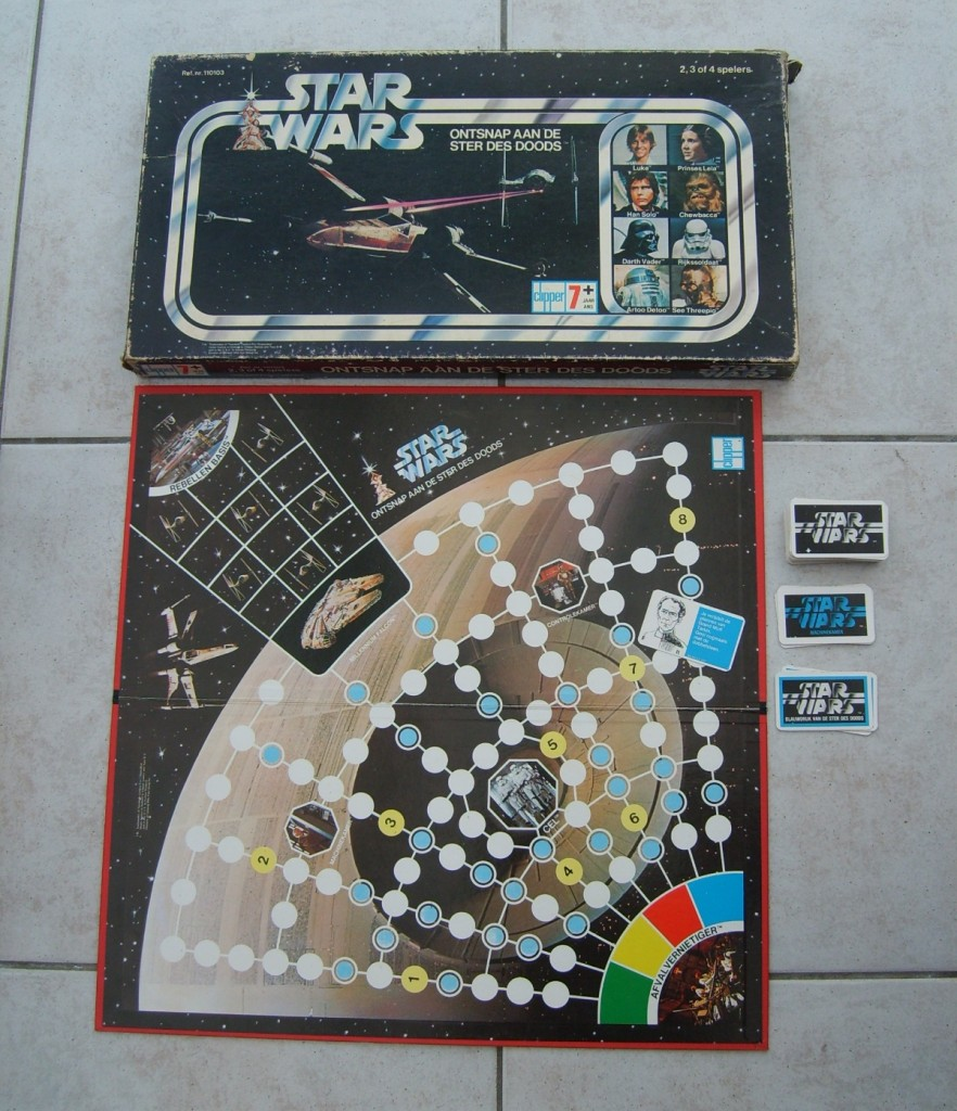 the vintage vault 9 classic star wars board games. Black Bedroom Furniture Sets. Home Design Ideas