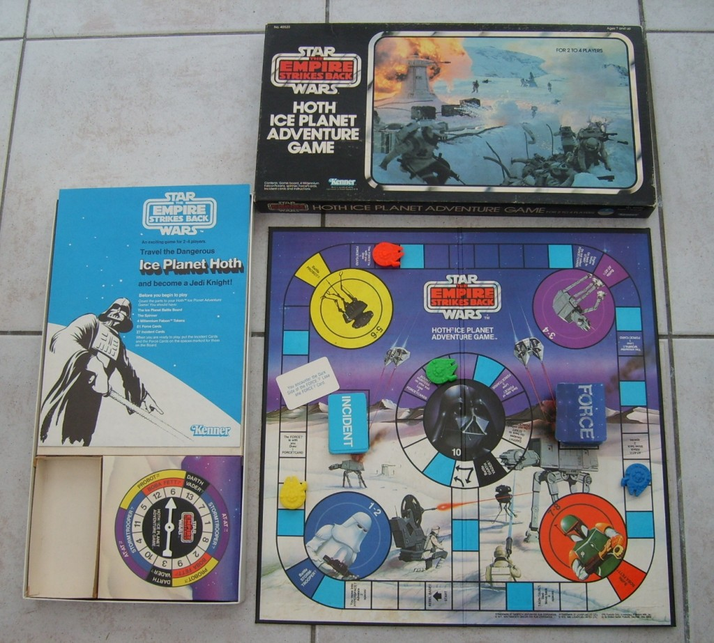 Star Wars Boardgames - Hoth Ice Planet Adventure