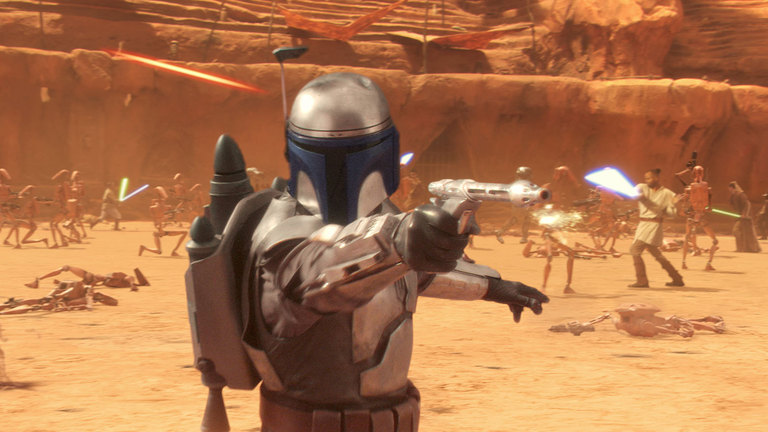 Attack of the Clones - Jango Fett