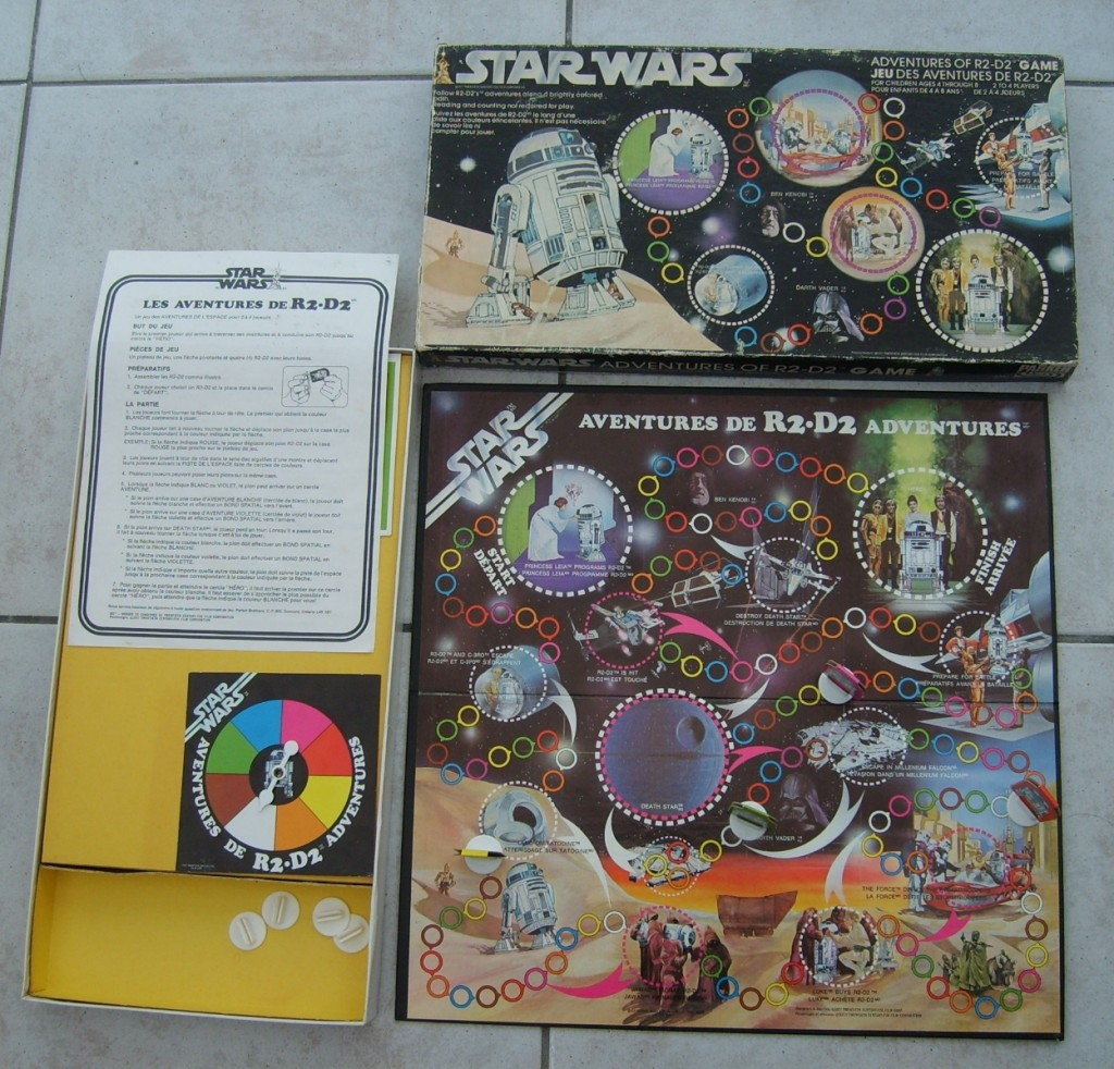 Star Wars Boardgames - The Adventures of R2-D2