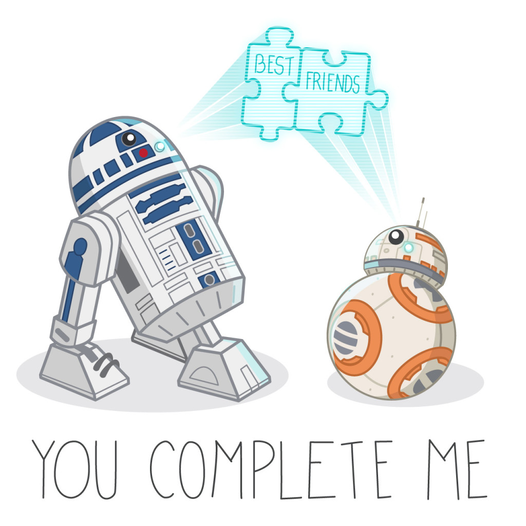 Star Wars: The Force Awakens valentine
