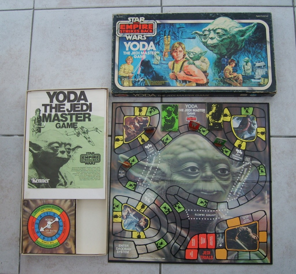Star Wars Boardgames - Yoda the Jedi Master