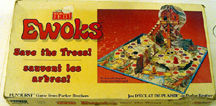 Ewoks Save the Trees board game