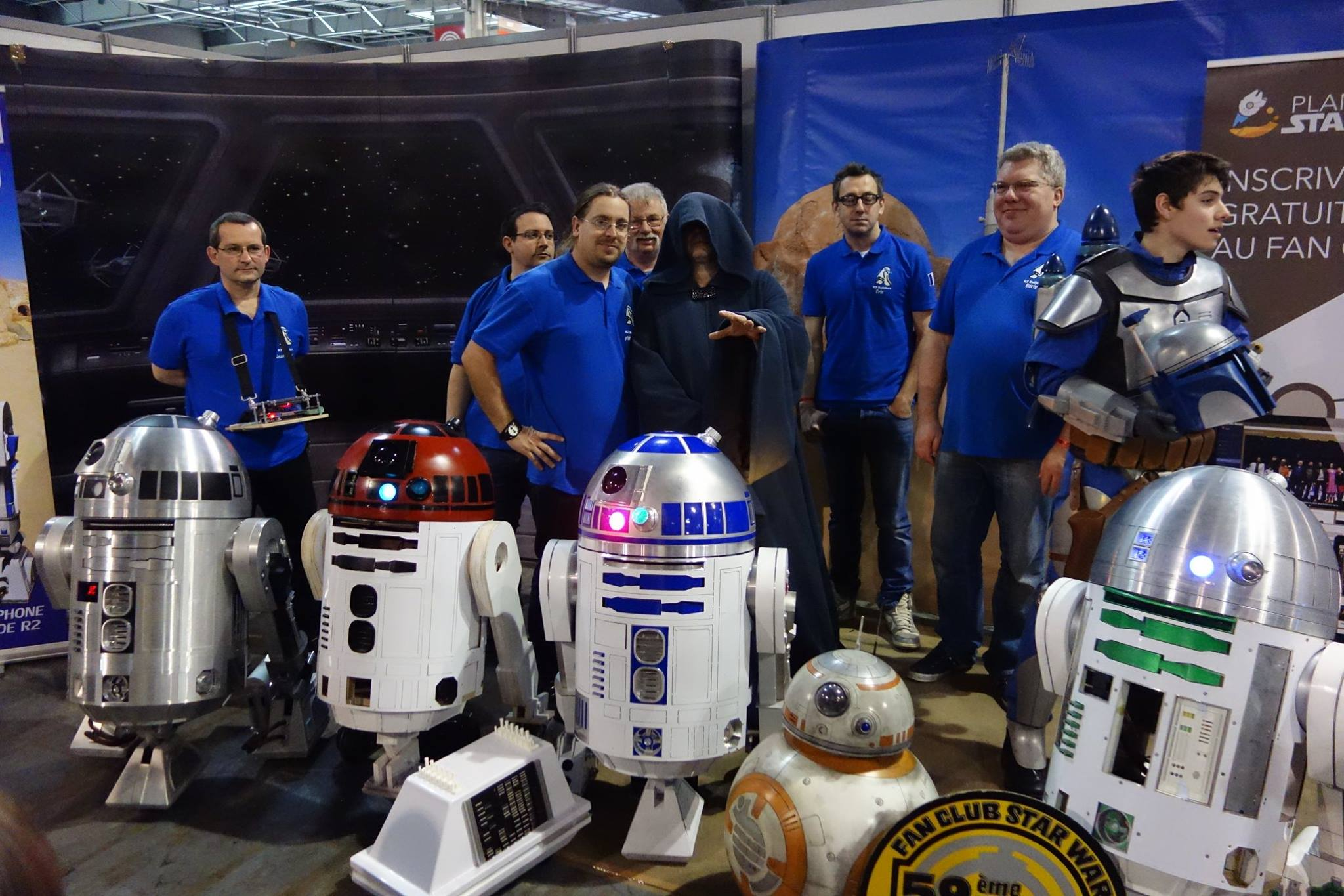 Return of the Droid Masters: R2 Builders Club Set for Celebration