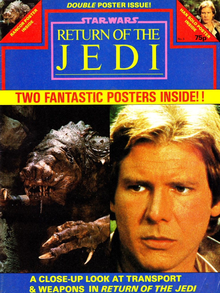 Return of the Jedi Poster Magazine #3 - Cover