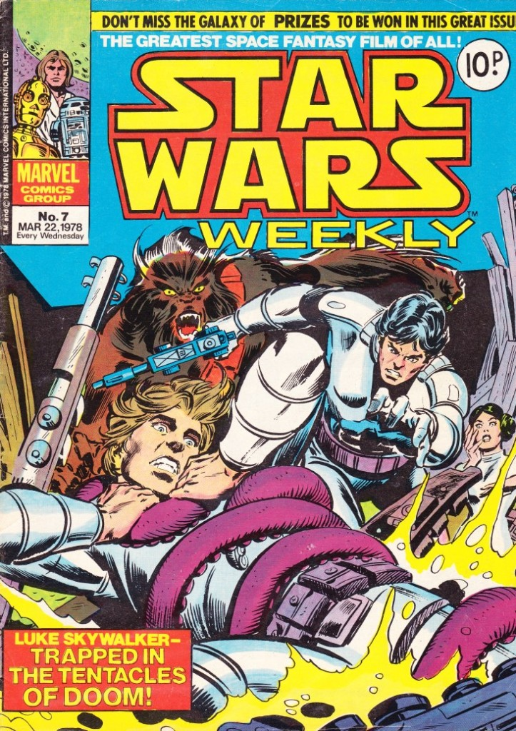 Star Wars Weekly #7 Cover