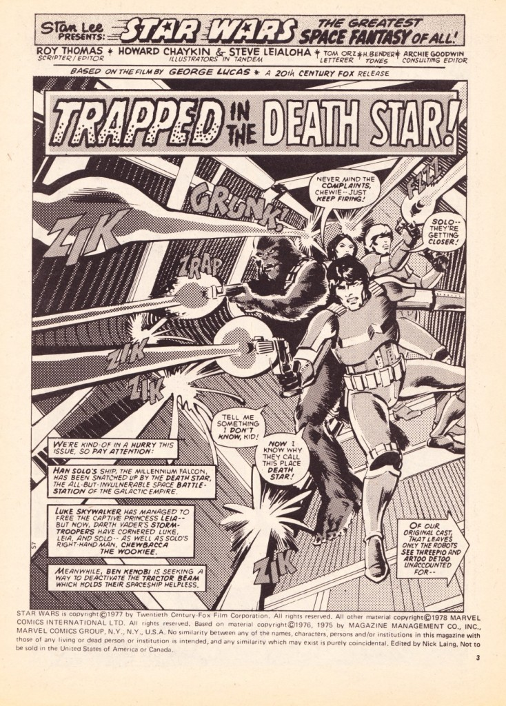 Star Wars Weekly #7 - Trapped in the Death Star