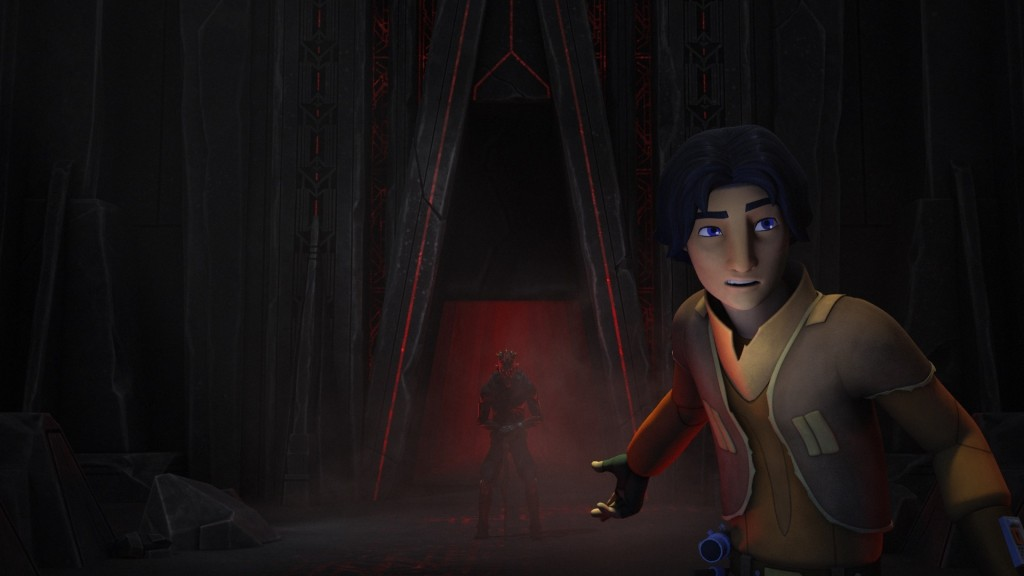 Star Wars Rebels - Maul and Ezra searching for the Sith holocron