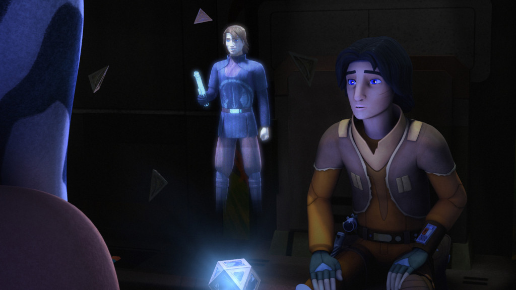 Star Wars Rebels - Ahsoka and Ezra