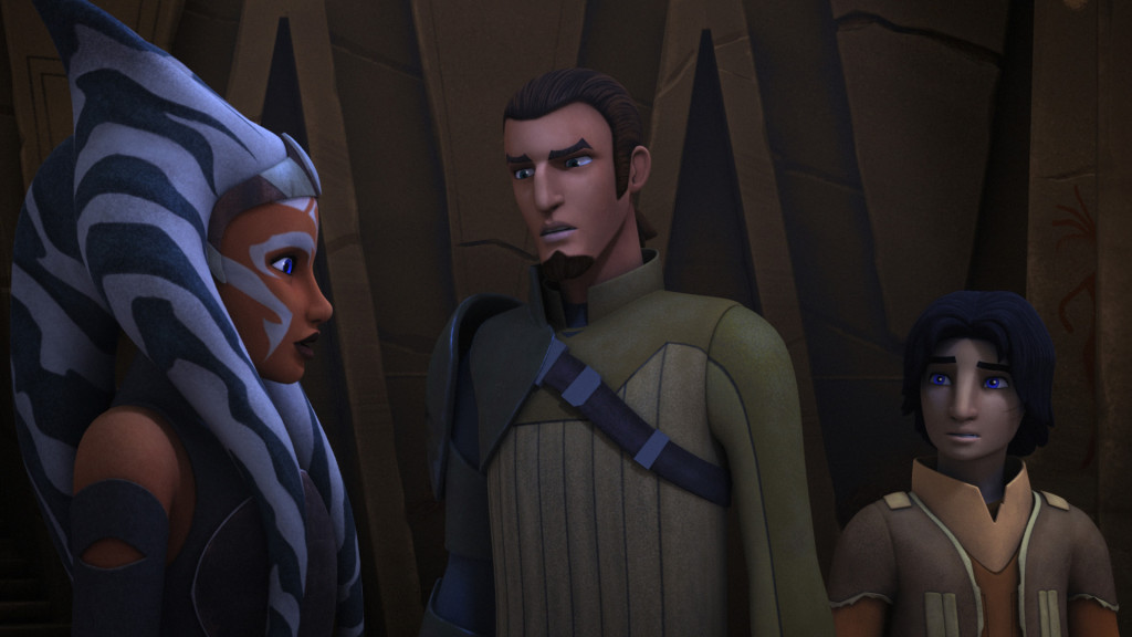 Star Wars Rebels - Kanan and Ezra