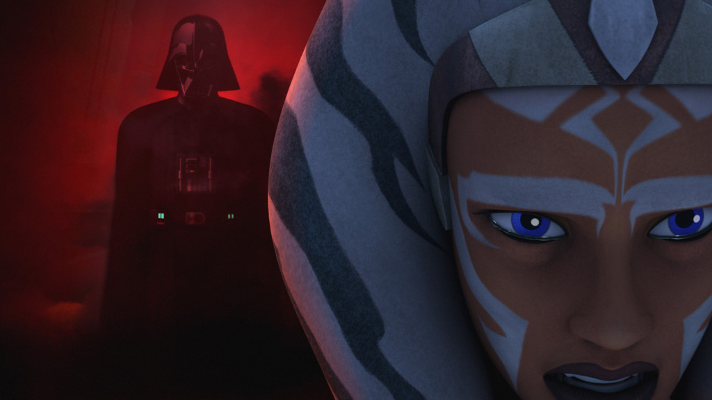 Star Wars Rebels - Ahsoka and Darth Vader
