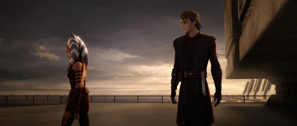 The Clone Wars - Ahsoka and Anakin in The Wrong Jedi