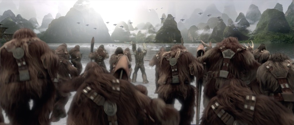 Revenge of the Sith - Wookiees