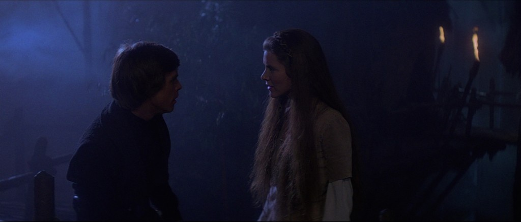 Return of the Jedi - Luke and Leia on Endor