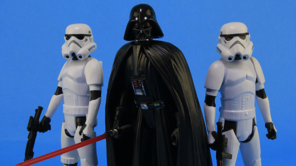 Hasbro Vader and Stormtroopers